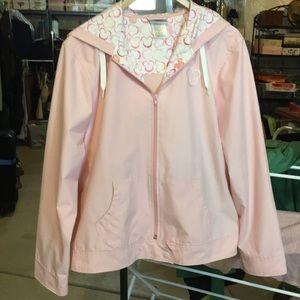 Darling Mickey logo raincoat